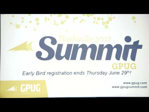 Dont Miss Out On Early Bird Pricing For GPUG Summit