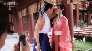 Zhiwei Behind The Scenes of Men With Sword