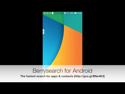 Video of Berrysearch: apps & contacts