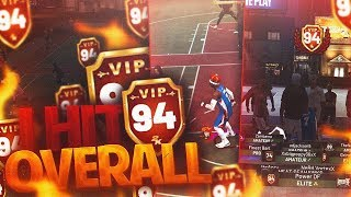 I GOT 94 OVERALL WITH A STRETCH CLEANER! DOUBLE TAKEOVER UNLOCKED! *NEW* BEST BUILD! NBA 2K19