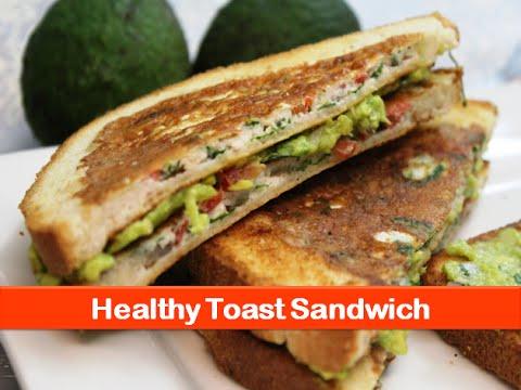 Video Healthy sandwich food ideas|egg white avocado brunch recipe|easy breakfast recipes-letsbefoodie.com