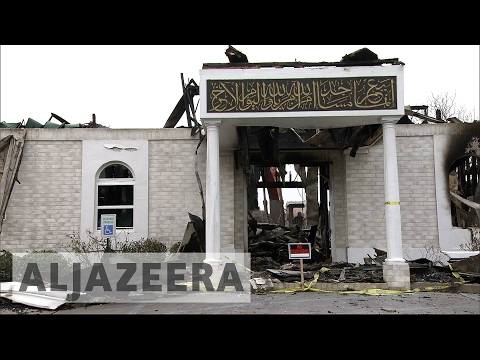 US: Mosque burnt after Trump announced Muslim ban