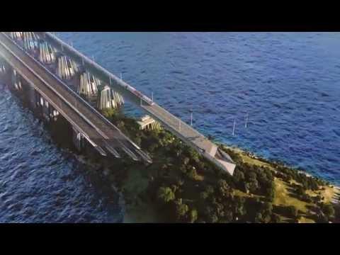 Krimbrücke als YouTube-Hit [Video aus YouTube]