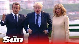 G7 leaders arrive for summit dinner as global disputes loom large