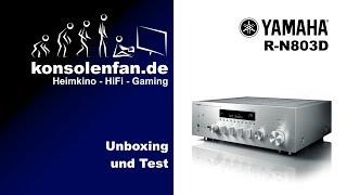 Unboxing► Yamaha R-N803D ausgeboxt und eingestellt