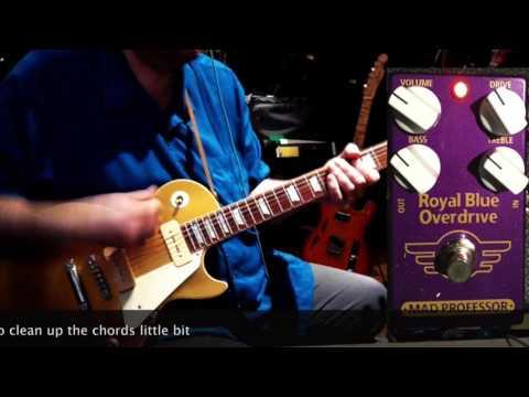 MAD PROFESSOR Royal Blue Overdrive Kytarový efekt