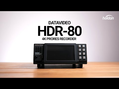 Datavideo HDR-80 4K ProRes Recorder