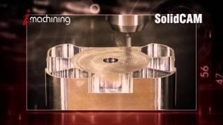 CNC Software – iMachining Aerospace Part – SolidCAM iMachining
