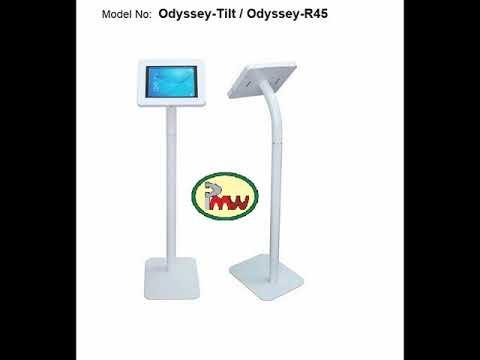 Desktop Tablet Anti Theft Lockable POS Kiosk
