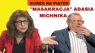 """Dr Ewa Kurek o Adamie Michniku. Mega ciekawy wywiad Wiktora Jerofiejewa z Michnikiem """"Rosja w Unii?"""