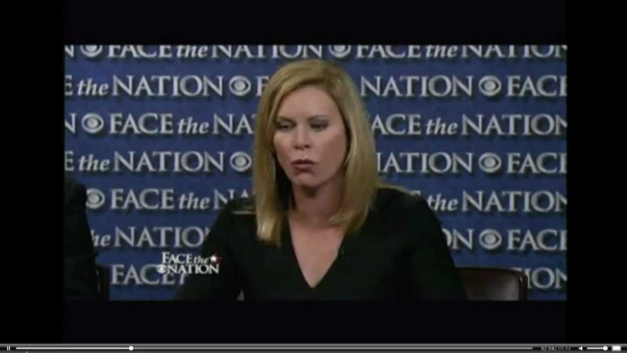 Stephanie Cutter on Face The Nation Attacking Romney's Bain Record thumbnail