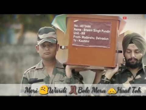 Army Day Special Whatsapp Status || Ashq Na Ho || HOLIDAY || Army Status 30 Second Whatsapp Status