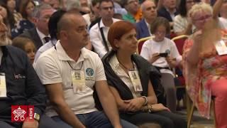 """Papa Francesco: udienza convegno  """"La teologia della tenerezza""""  2018-09-13"""