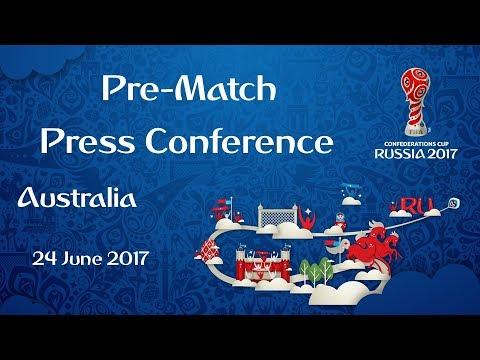 CHI vs. AUS - Australia Pre-Match Press Conference