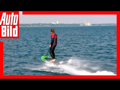 Jetboard Lampuga vs BMW i3 (2016) - Elektro-Duell - Test/Review