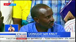 Mudzo Nzili pamoja na naibu wake wa kwanza wamesalimu amri na kukubali kustaafu
