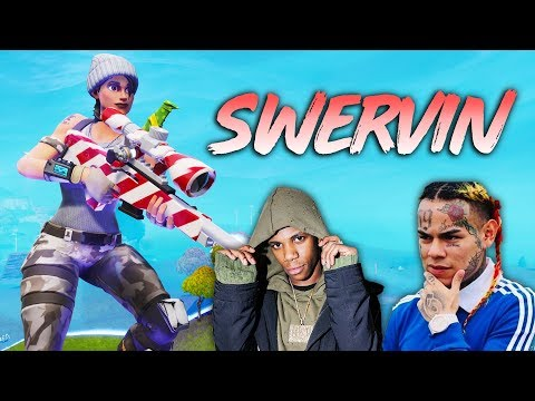 "Fortnite Montage - ""SWERVIN"" (A Boogie & 6ix9ine)"