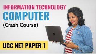 NTA UGC NET Paper 1- Information Technology & Computers (Crash Course)