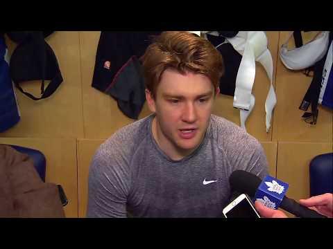 Maple Leafs Practice: James van Riemsdyk - April 11, 2018