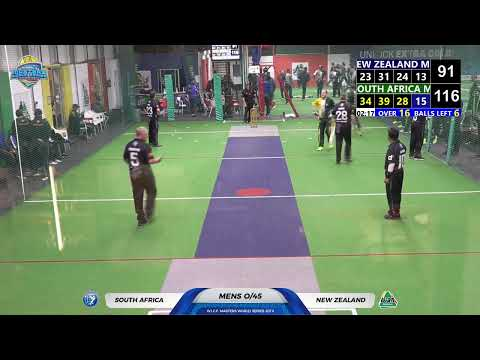 WICF 2019 Monday 21 Oct South Africa M45 VS New Zealand M45 17:45 COURT 1