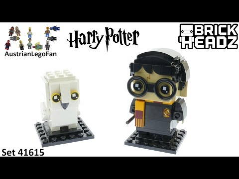 Vidéo LEGO BrickHeadz 41615 : Harry Potter & Hedwige