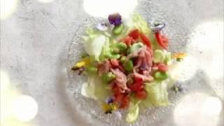宝塚受験生のダイエットレシピ〜そら豆と生ハムのサラダ〜のサムネイル画像