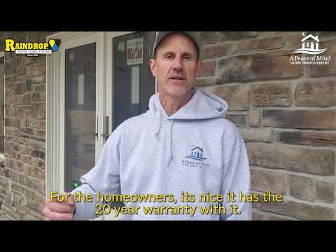 A Peace Of Mind Home Improvement Install and Interview