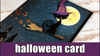 Halloween Card | Using Sizzix Dies