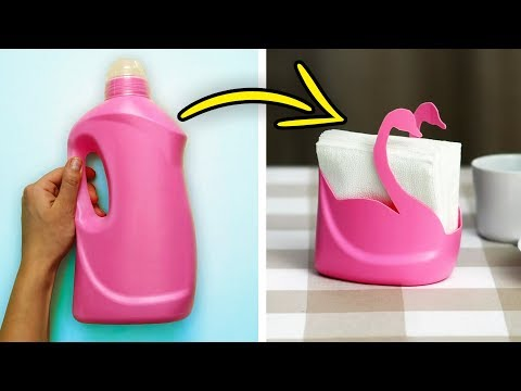 25 Awesome Diys From Plastic Bottles 5 Minute Crafts Kids Video