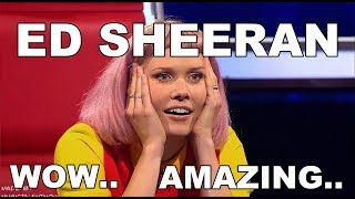 ED SHEERAN VOICE, ED SHEERAN X FACTOR, ED SHEERAN GOT TALENT 8 BEST ED SHEERAN
