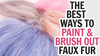How To Paint Faux Fur - Many Different Ways To Color Fur