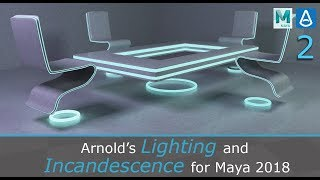 Arnold's Lights and Incandescence for Maya 2018