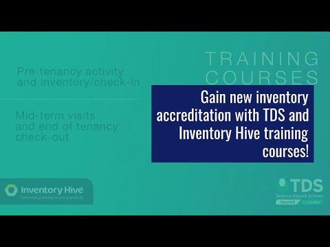 Gain new inventory accreditation with TDS and Inventory Hive ...