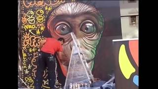 "Graffiti evento en Soulmade BCN por Berok Xupet Negre ""Soulmadebcn"""