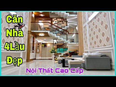 #nhabangiaregovap Nhà bán Gò Vấp 4.2 x 15m Khu nhà đồng bộ 4 lầu thiết kế bố trí nội thất miễn Chê