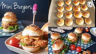 Mini Zinger Burgers With Homemade Buns | Eid Special Recipe By Wife In The Kitchen