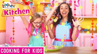 Lalaloopsy Kitchen: Super Silly Party Cake Recipe | Were Lalaloopsy | Now Streaming On Netflix!