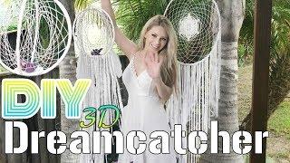 DIY 3D DREAMCATCHER Tutorial | How to Make a Dreamcatcher
