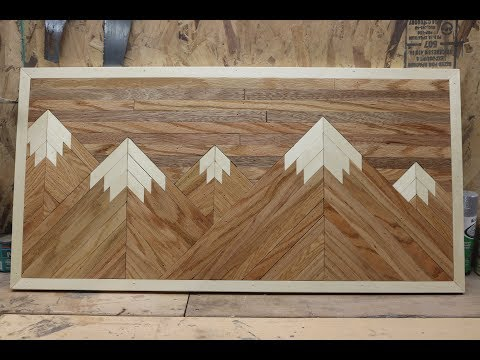 Wood Pallet Mountain Picture