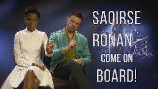 """Saoirse Ronan - Come On Board!"" - Letitia Wright and Sebastian Stan Talk Avengers: Infinity War"