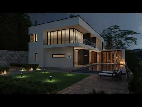 Video Gải Pháp Chiếu Sáng Biệt Thự Villa