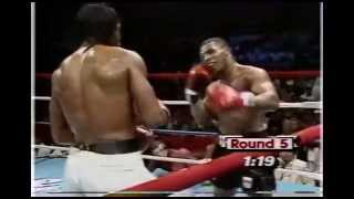 Tyson vs Green, Nice Defense !