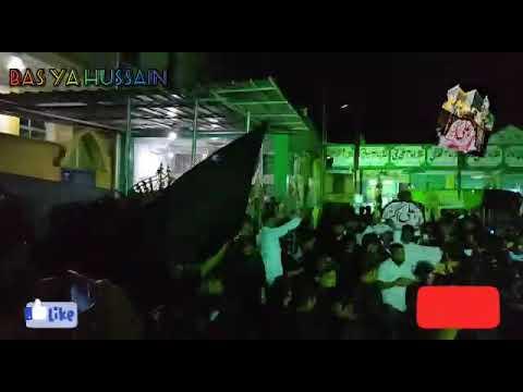 ANJUMAN E SHABIHE PAYAMBAR last khamsa 5th Majlis.taboot_e_shabihe payambar Haaye Ali akbar