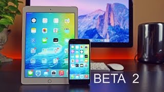 Apple iOS 9: Beta 2