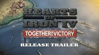 Hearts of Iron IV Together for Victory DLC STEAM cd-key GLOBAL