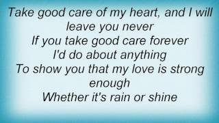 911 - Take Good Care Lyrics