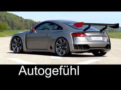 Audi TT clubsport turbo concept Sound Exterior Interior & Driving Scenes - Autogefühl