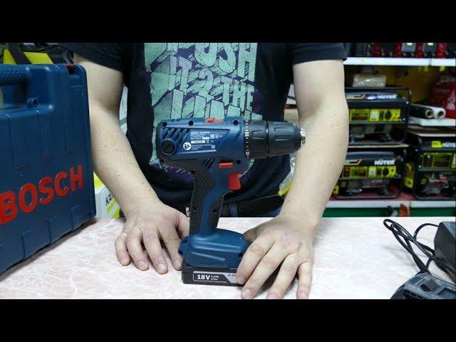 Видео дрель-шуруповерт BOSCH