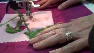 Bury threads after machine quilting.m2t