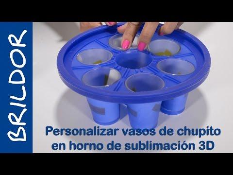 Personalizar vasos de chupito